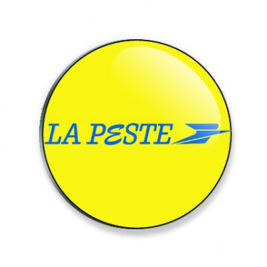 Badge la peste 38 mm