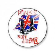 Badge punks not dead 38 mm