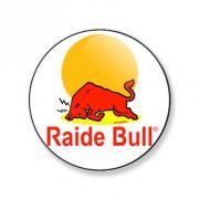 Porte-clés raide bull 25 mm