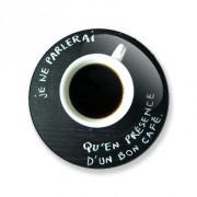 Badge un bon café 25 mm