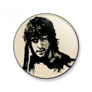 Badge Rambo 25 mm