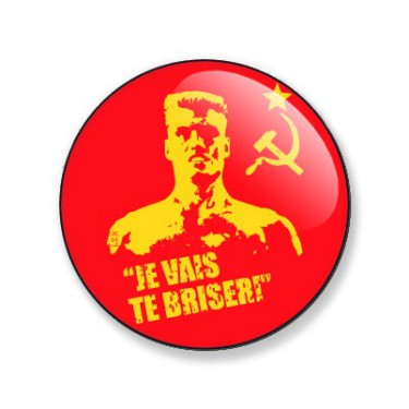 Badge Rocky IV 38 mm