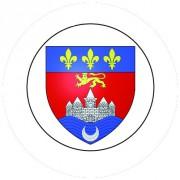 Badge 25mm BORDEAUX
