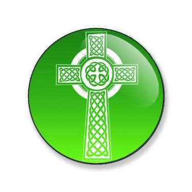 Badge 25mm Croix celtique