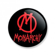 Badge 25mm Monarchy
