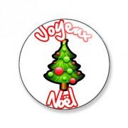 Badge 25mm Joyeux noël