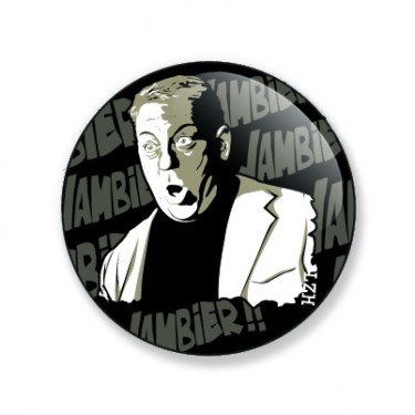 Magnet Gainsbourg 25 mm
