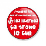 Badge capitaine orgazm 38 mm