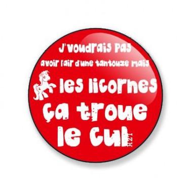Badge pierre Perret 38 mm