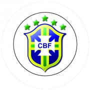 Badge 25mm Selecao BRASIL