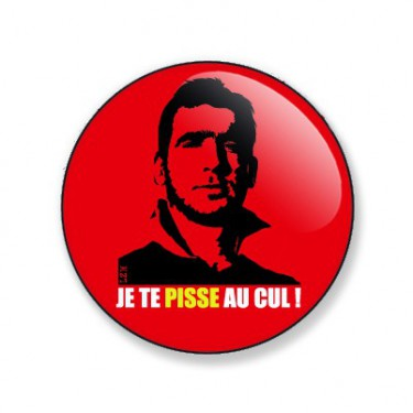 Badge eric cantona 38 mm