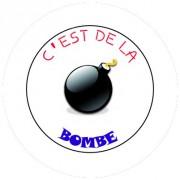 Badge 25mm C est de la bombe