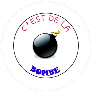 BADGESAGOGO.FR - Badge 25mm C est de la bombe