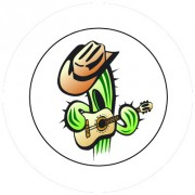 Badge 25mm Cactus