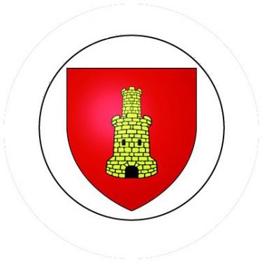 BADGESAGOGO.FR - Badge 25mm CAEN