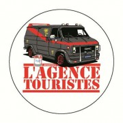 Badge agence touristes 59 mm