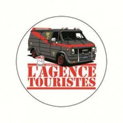 Badge agence touristes 38 mm