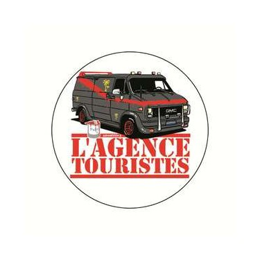 Badge agences touristes 38 mm