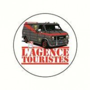Badge agence touristes 25 mm
