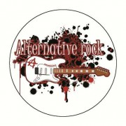 Badge alternative rock 59 mm
