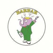 Badge barbar 25 mm