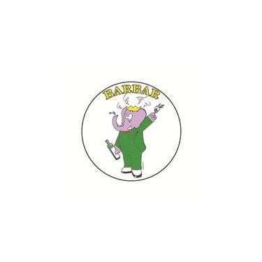 Badge barbar 25 mm