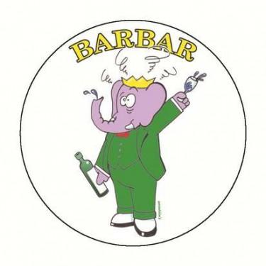 Badge barbar 59 mm