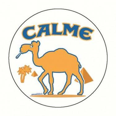 Badge calme 59 mm