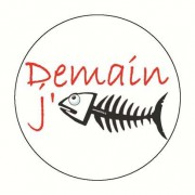 Badge demain j arrete 59 mm