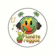 Badge planete reggae 25 mm
