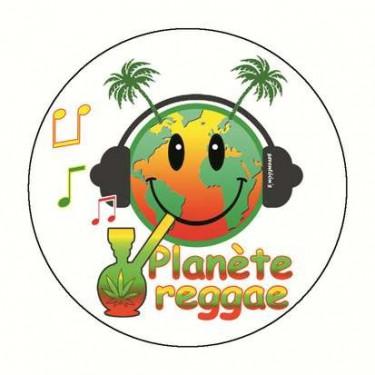 Miroir planete reggae 59 mm