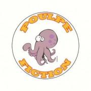 Badge poulpe fiction 38 mm