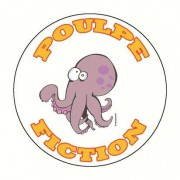 Badge poulpe fiction 59 mm