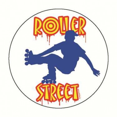 Badge roller street 59 mm