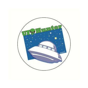 Badge UFO HUNTER 38 mm