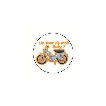 Badge un tour de mob 25 mm