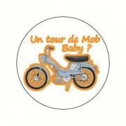 Badge un tour de mob 38 mm