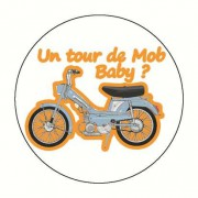 Badge un tour de mob 59 mm