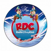 "Badge ""Summer Time"" du Radio Disney Club - Badge 59 mm"
