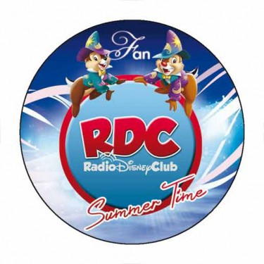 "Badge ""Summer Holidays"" du Radio Disney Club - Badge 59 mm"