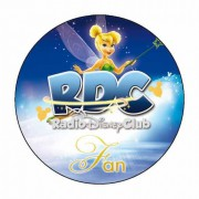 "Badge ""FAN"" du Radio Disney Club - Badge 59 mm"
