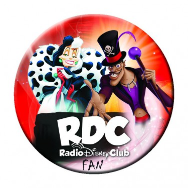 "Badge ""Haloween"" du Radio Disney Club - Badge 59 mm"