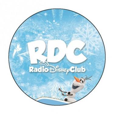 Badge Hiver du Radio Disney Club - Badge 59 mm
