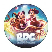 Badge Noel du Radio Disney Club - Badge 59 mm
