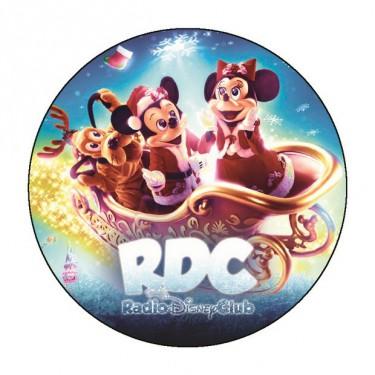 Badge Noel du Radio Disney Club - Badge 59 mm