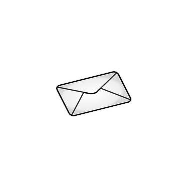 Enveloppe vide (fournie sans aucun badge)