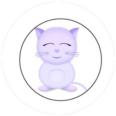 BADGESAGOGO.FR - Badge 25mm Chat