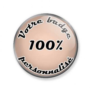 Badges personnalisés 25 mm