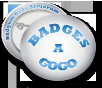 BADGES A GOGO - Création de badges personnalisés